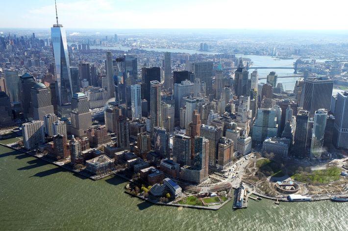 Expérience inoubliable : le survol de New York en hélicoptère.