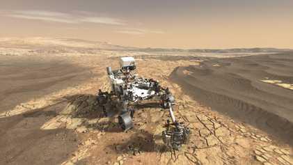 La rover Mars 2020 va explorer un lac ayant potentiellement abrité la vie sur Mars