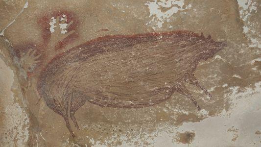 Cette peinture rupestre figurative est la plus ancienne jamais mise au jour