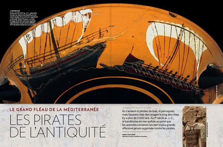 Les pirates de l'Antiquité - Le grand fléau de la Méditerranée