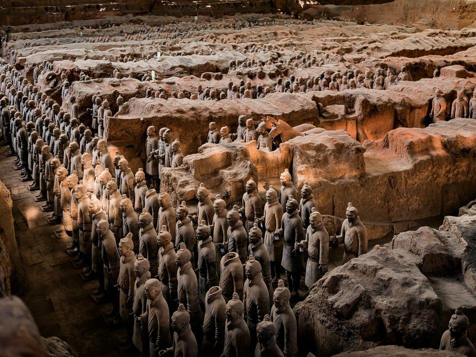 Comment l'armée de terre cuite de l'empereur Qin a-t-elle été fabriquée ?