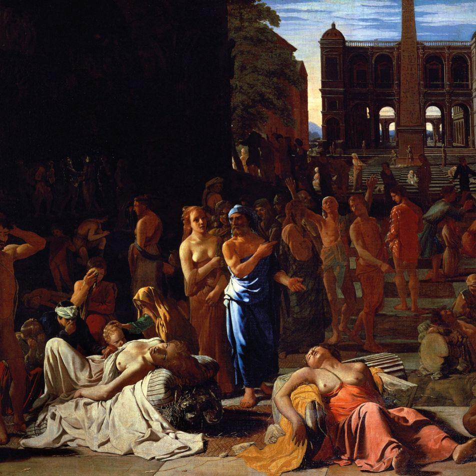 En 430 av. J.-C., la mystérieuse peste d'Athènes a fait des dizaines de milliers de morts