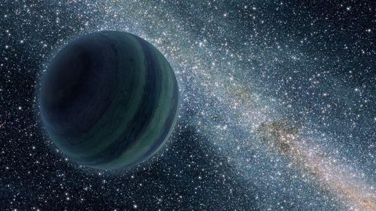 Les planètes vagabondes sont des mondes solitaires, qui errent sans étoile.
