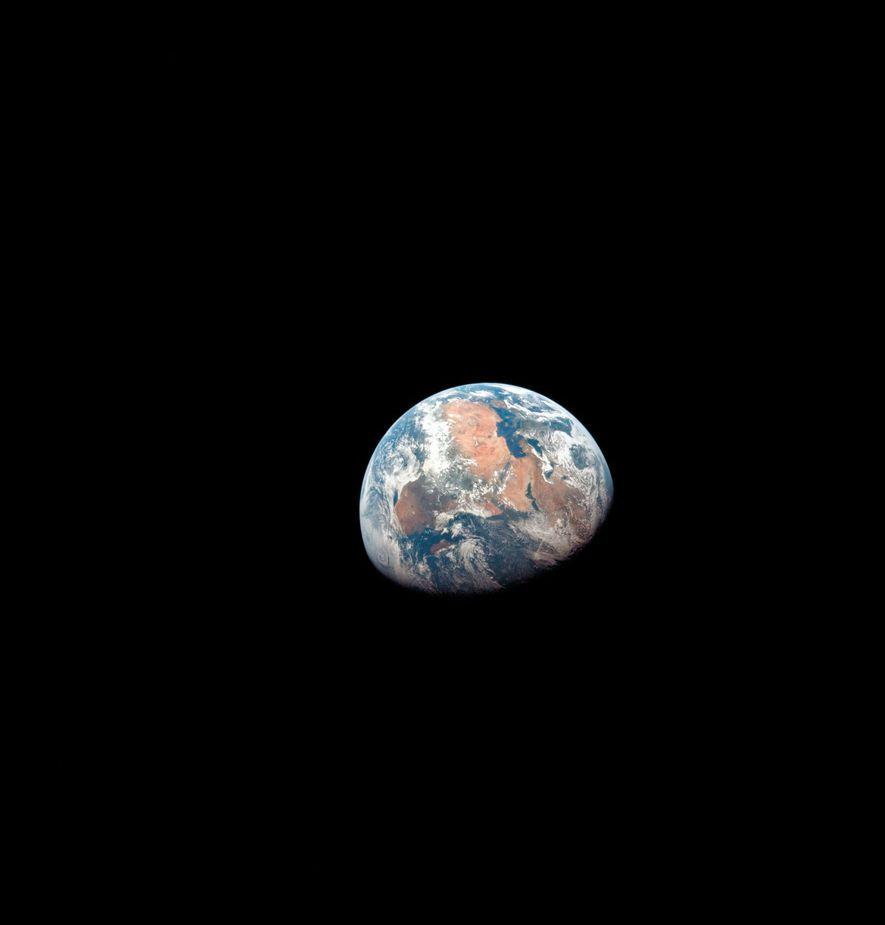 Vision de la planète Terre depuis l'espace.