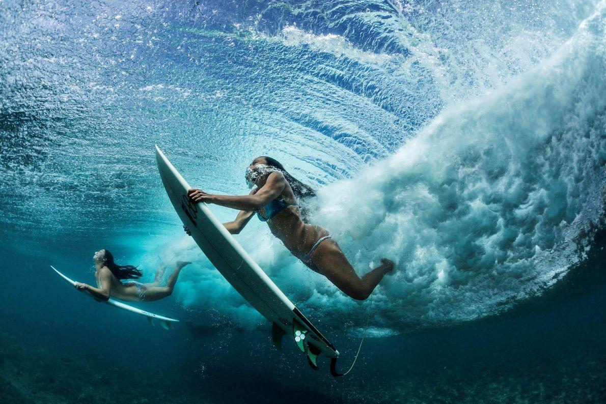 Dans le creux de la vague
