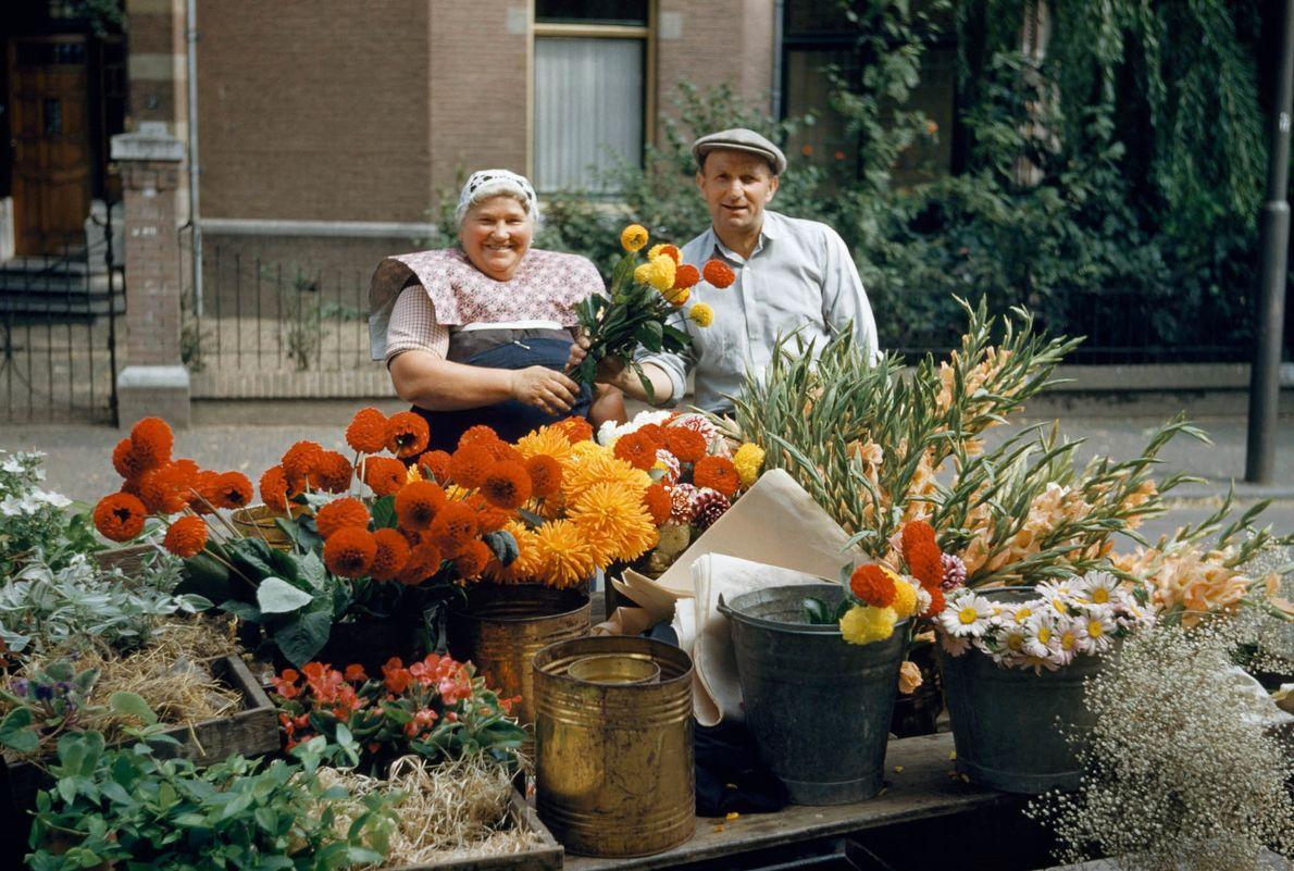 Fleurs à vendre