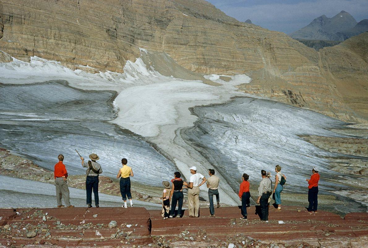 Subjugués par le glacier
