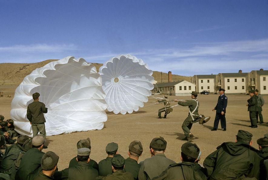 Cours de parachute