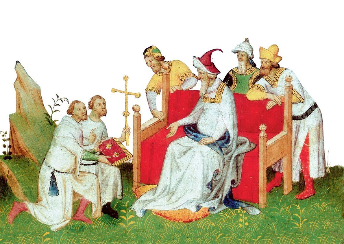 Des Européens également visitaient l'Empire mongol, comme les marchands vénitiens Niccolò et Matteo Polo, le missionnaire ...