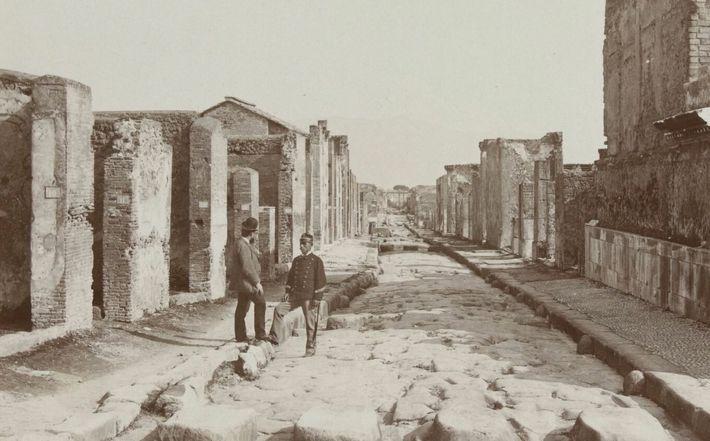 Dans l'intimité du Pompéi antique