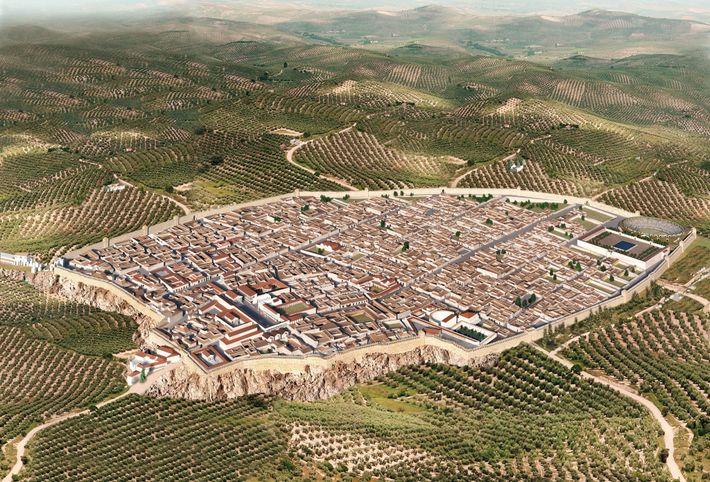 La fouille de la région V, située entre Via del Vesuvio et Via di Nola et ...