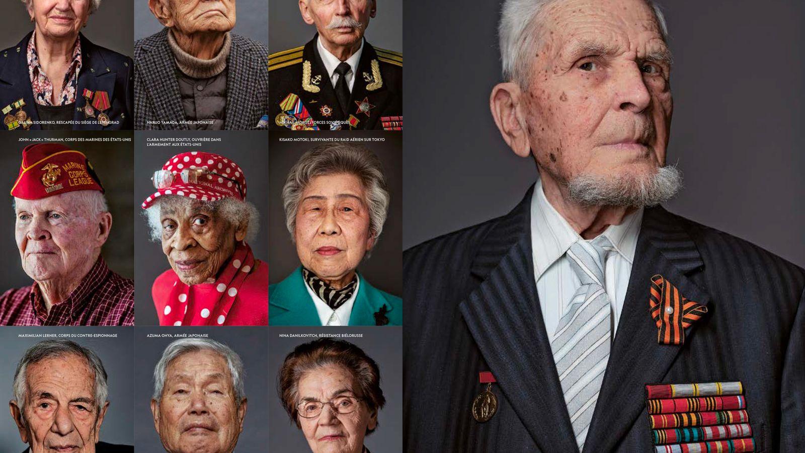 Les dernières voix de la Seconde Guerre mondiale.