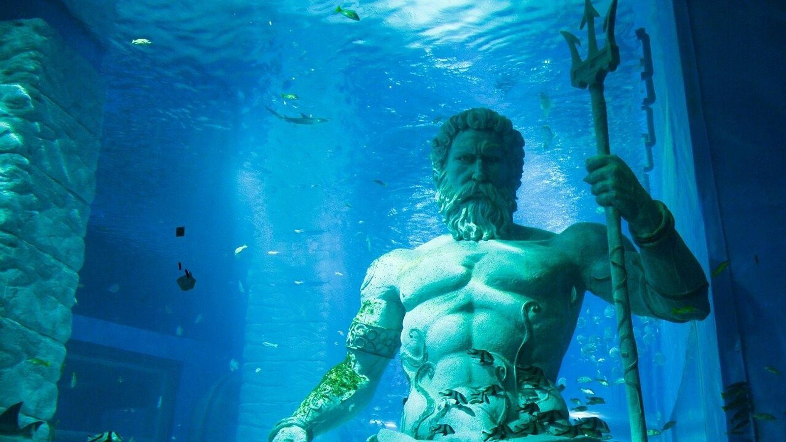 Les rois de l'Atlantide auraient été, selon Platon, les descendants directs du dieu Poséidon.