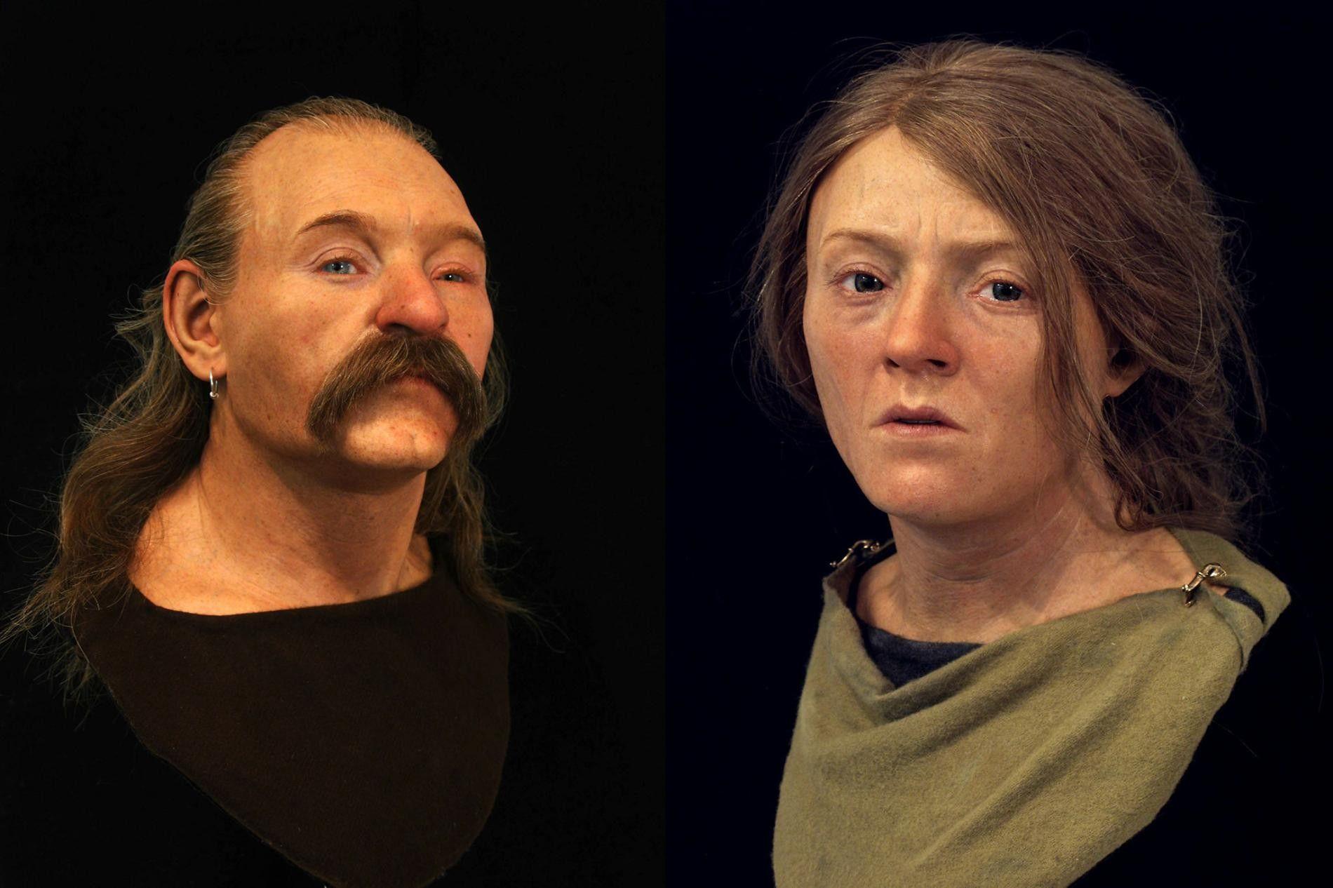 Ces reconstructions faciales révèlent 40 000 ans d'ascendance anglaise | National Geographic