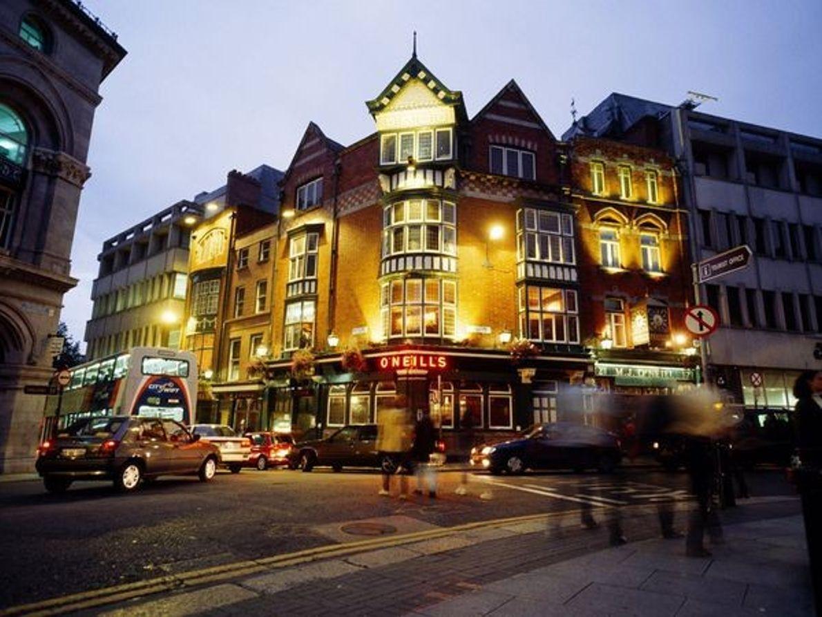 Un pub à Dublin