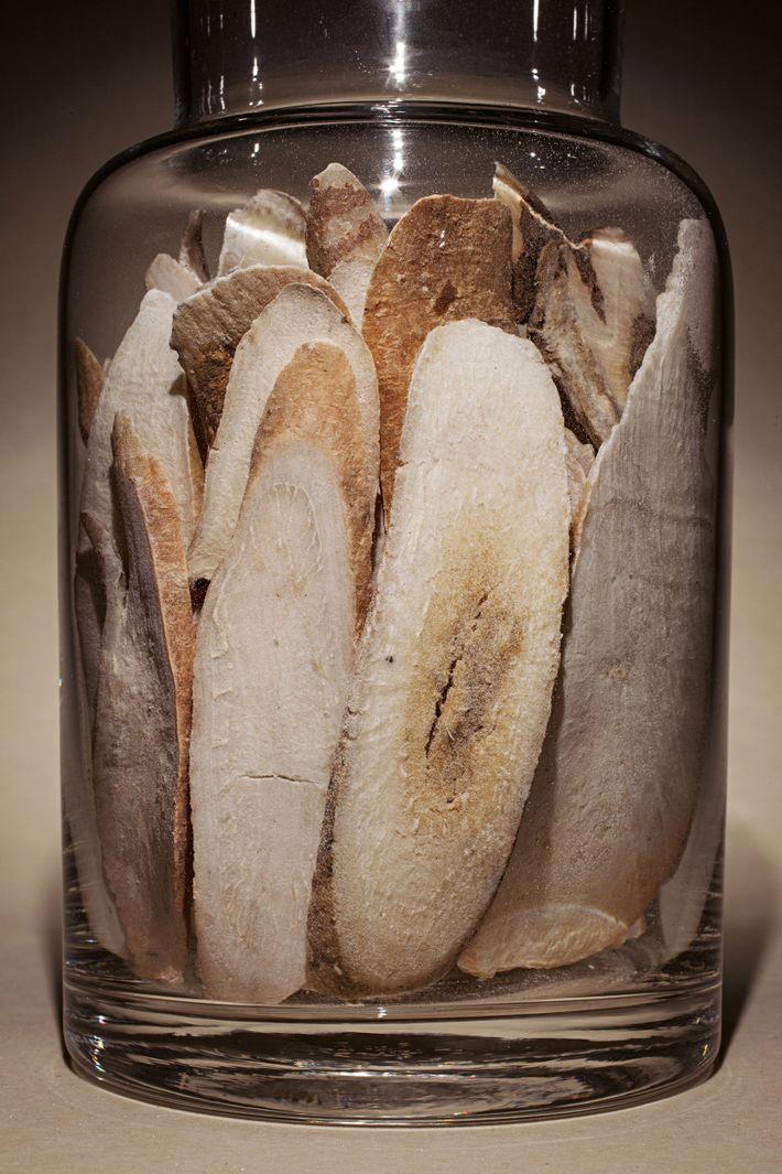 Ces racines de pivoine blanche entrent dans la composition d'un traitement prometteur contre le cancer, appelé ...