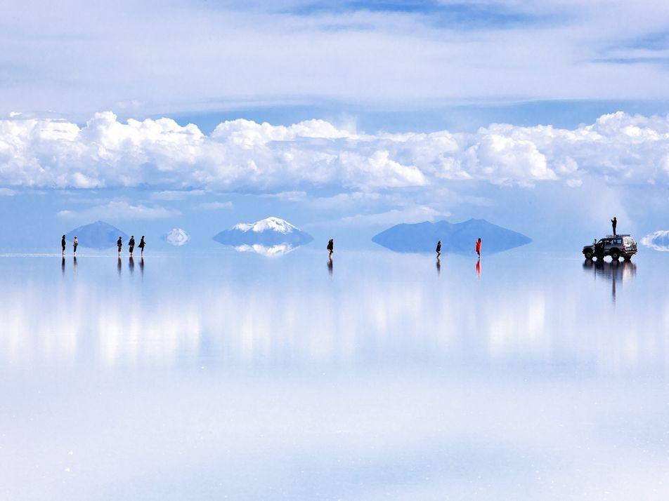 Ce désert de sel offre l'une des vues les plus spectaculaires de la Terre