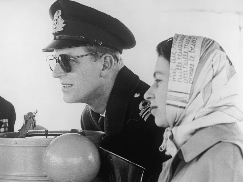 Le Prince Philip, aux côtés de la reine Elizabeth II pendant plus de soixante-dix ans