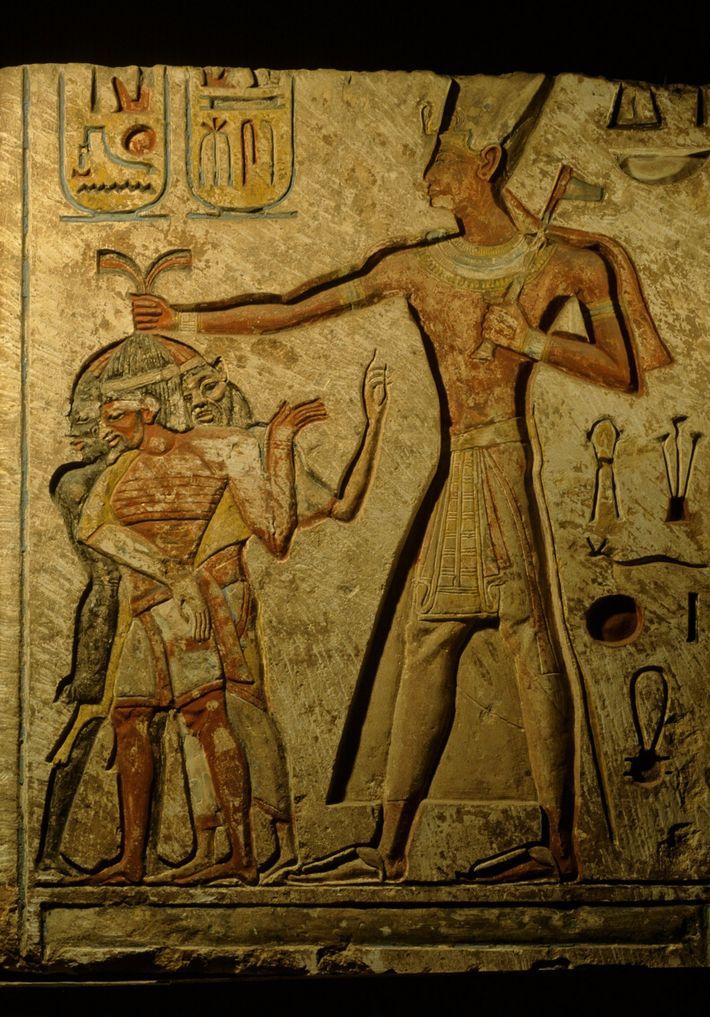 Portrait of Ramses II