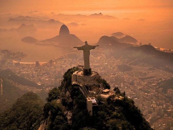 « Le Christ Rédempteur », à Rio de Janeiro