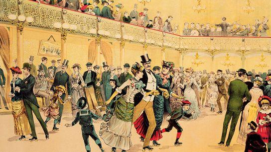 Dans les années 1880, alors que la folie du patin à roulettes s'emparait des États-Unis, les publicités ...