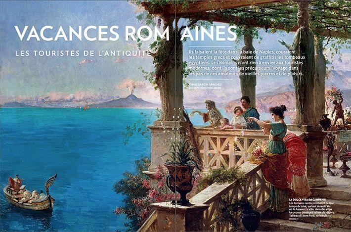 Vacances romaines, les touristes de l'Antiquité.