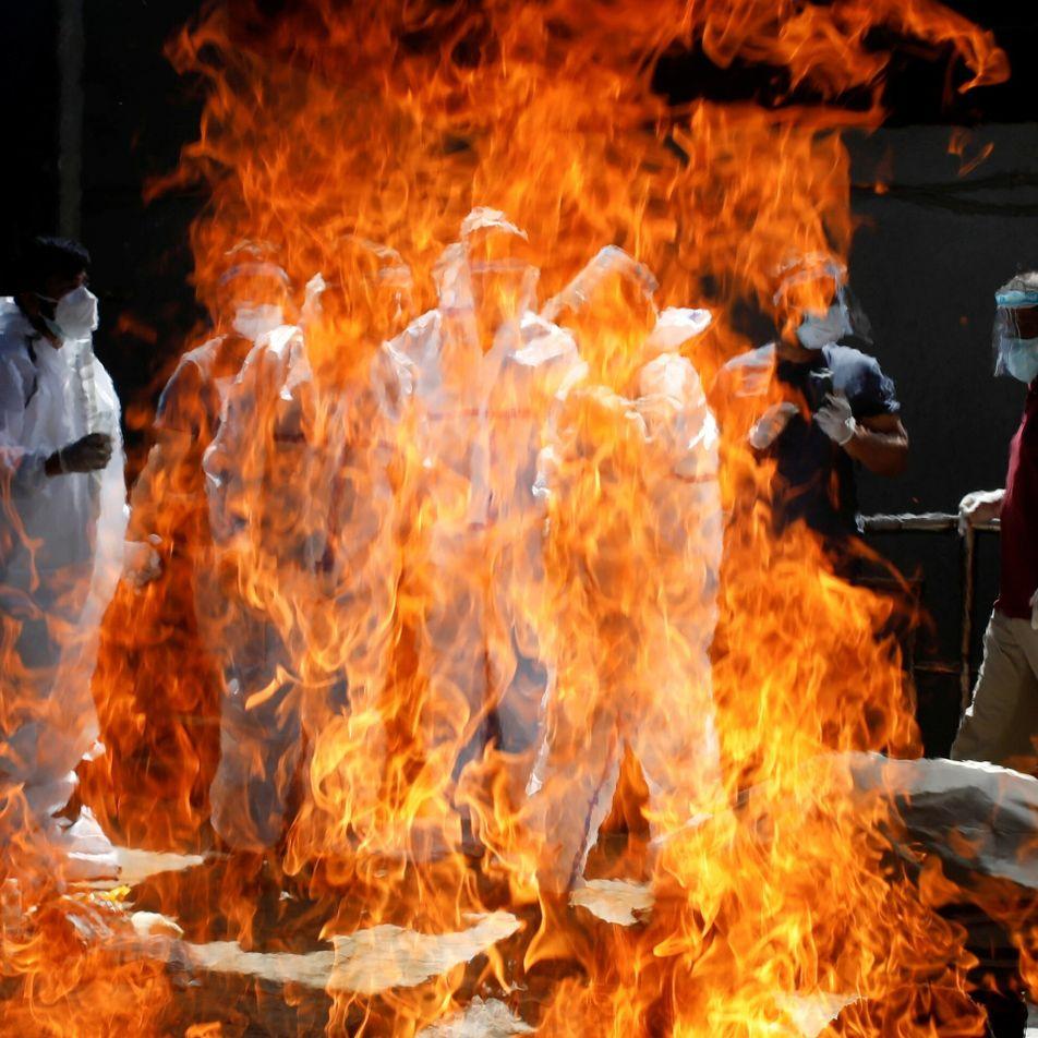 En Inde, la deuxième vague la plus violente au monde