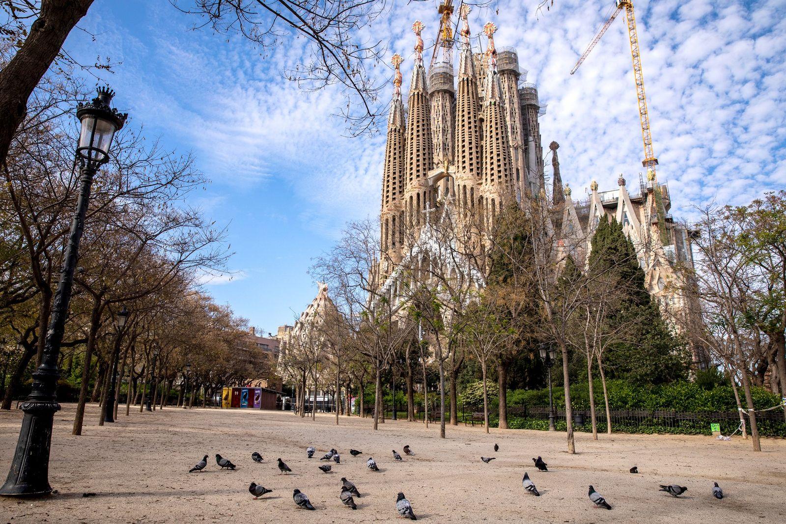 Barcelone au temps du coronavirus