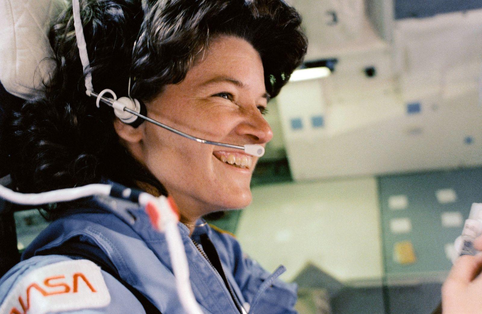 Le 18 juin 1983, Sally Ride est devenue la première femme américaine à participer à une ...