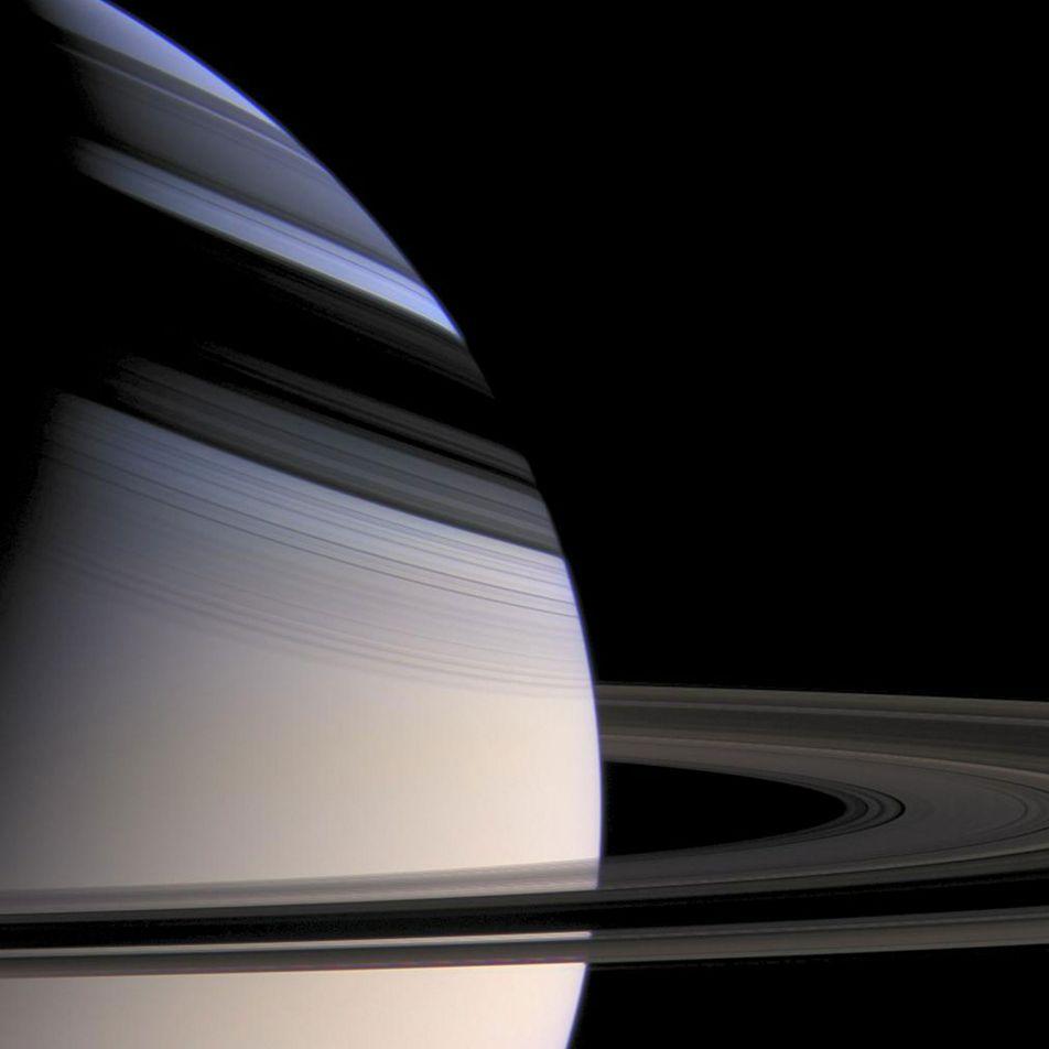 Les anneaux de Saturne ont permis de révéler les secrets de son noyau