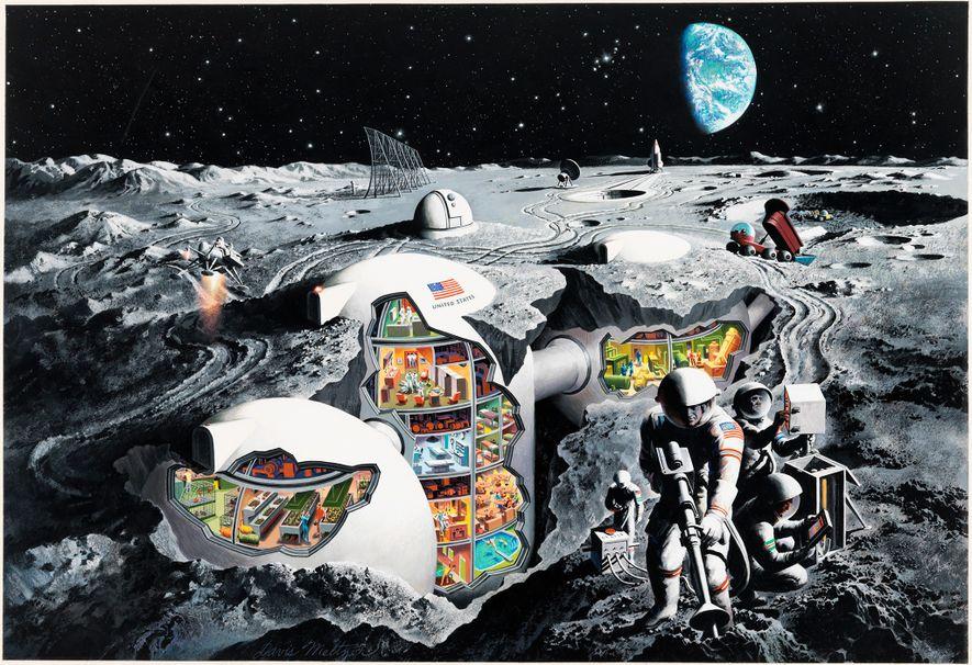 """""""En se basant sur les travaux les plus avancés des experts, l'artiste Davis Meltzer dépeint un ..."""