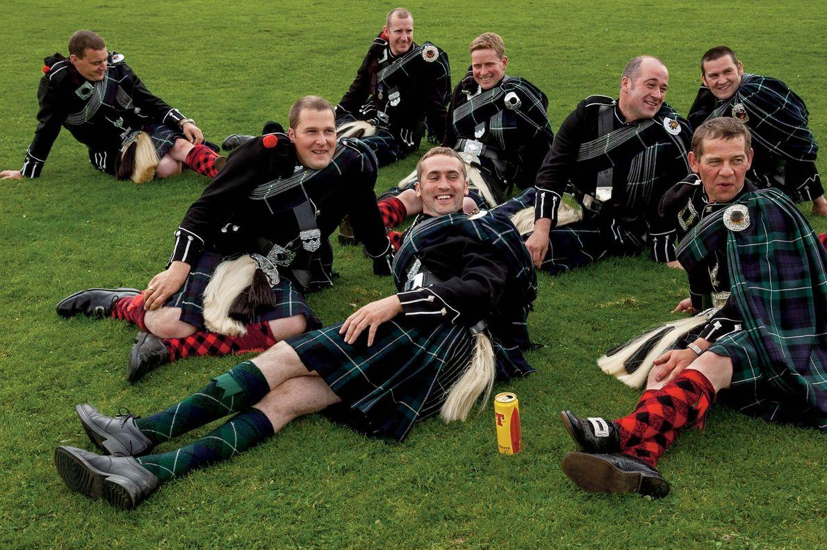 Chaque année depuis 1823, la Lonach Highland and Friendly Society a organisé dans les Highlands son ...