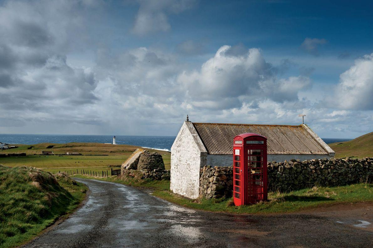 À mi-chemin entre Shetland et les Orcades dans l'Atlantique Nord, Fair Isle ne dispose que d'une ...