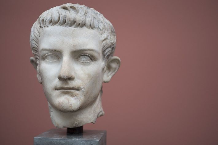 Portrait de Caligula.