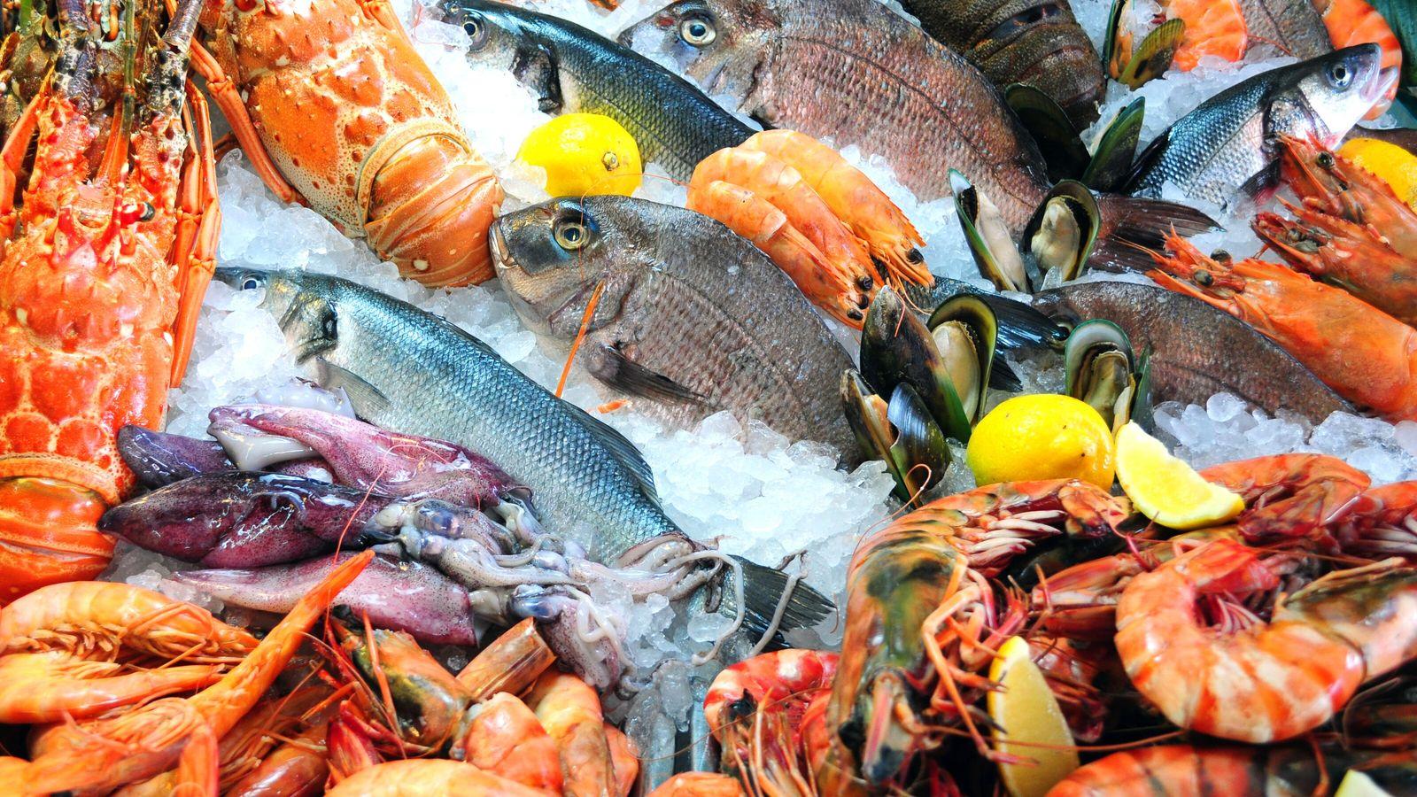 La nouvelle étude montre entre autres que la consommation de poissons et de produits de la ...