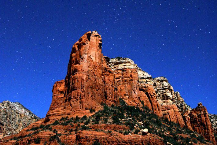 Le ciel étoilé de Sedona n'est qu'à deux heures de route au nord de Phoenix.