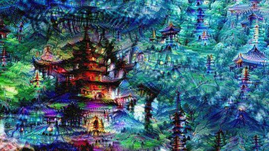 Le réseau de neurones artificiels de Google a généré cette image de « rêves ».