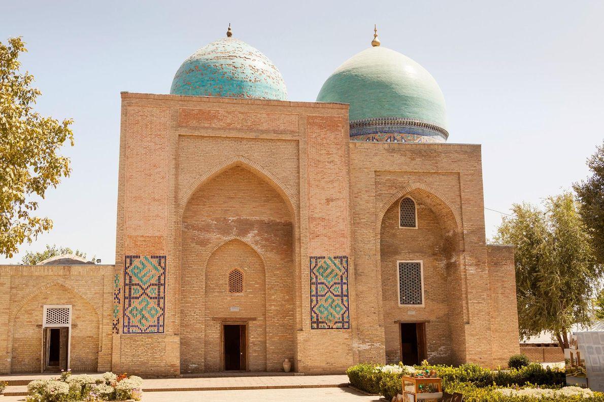 LE CENTRE HISTORIQUE DE SHAKHRISYABZ, OUZBÉKISTAN Située sur la Route de la soie dans le sud de ...