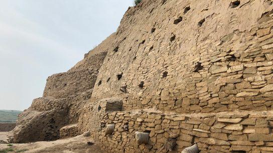 Les ruines de Shimao.