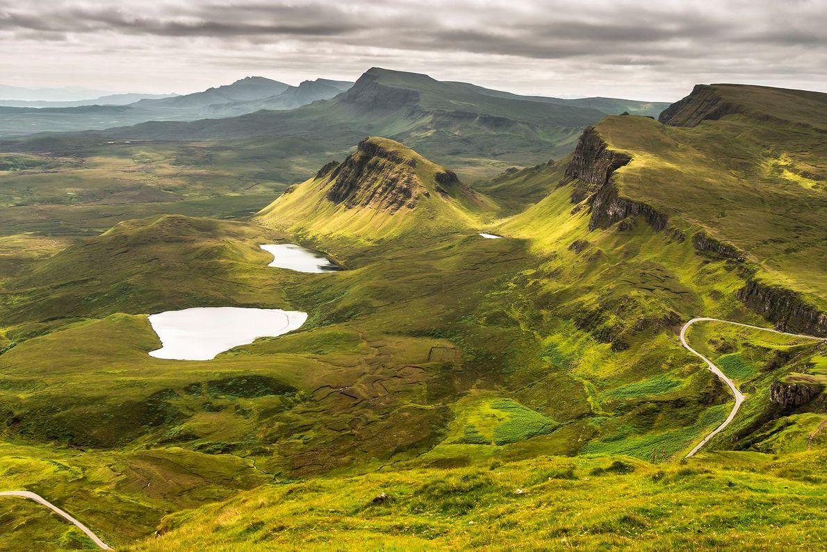 Le Skye Trail est un sentier de randonnée qui s'étale sur près de trente kilomètres le ...