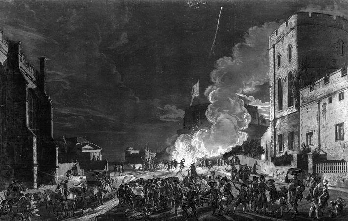 La nuit de Guy Fawkes est devenue une célébration annuelle avec des traditions comprenant des feux ...