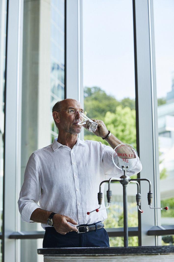 Le directeur de l'Association slovène des centres de thalassothérapie, Iztok Altbauer.