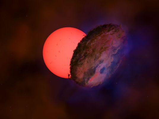 Un mystérieux objet spatial a occulté une étoile pendant 200 jours
