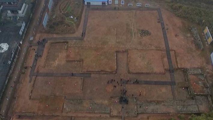 Les archéologues ont confirmé la localisation du temple taoïste au pied dumont Longhu, dans la province ...