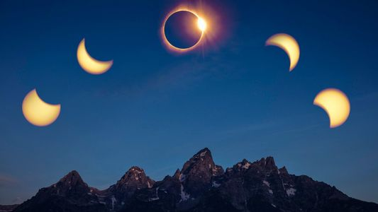 L'éclipse solaire du 21 août en images