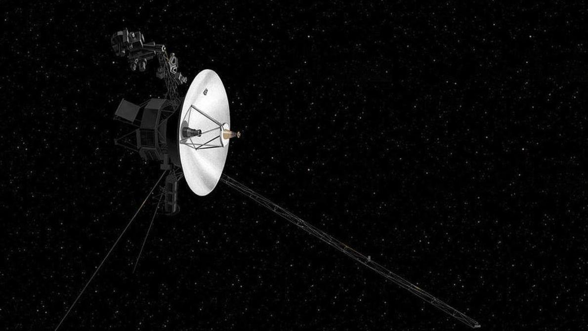 Voyager 2 s'apprête à franchir les frontières de notre système solaire