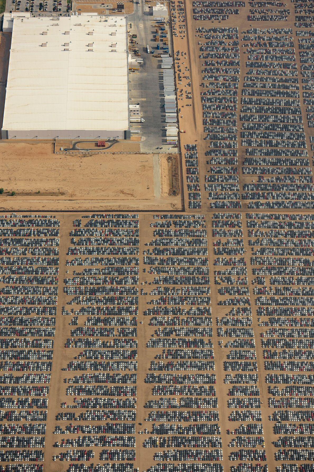 L'Aéroport Logisitque de la Californie du Sud est l'un des 37 sites où sont entreposées les ...