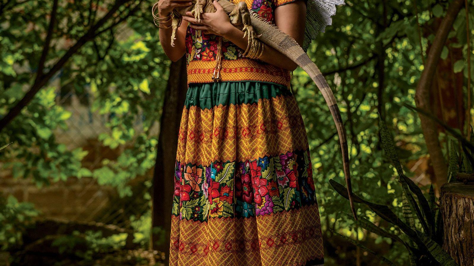 Depuis des millénaires, l'iguane est un emblème pour le peuple Zapotec, notamment sur l'isthme de Tehuantepec, ...