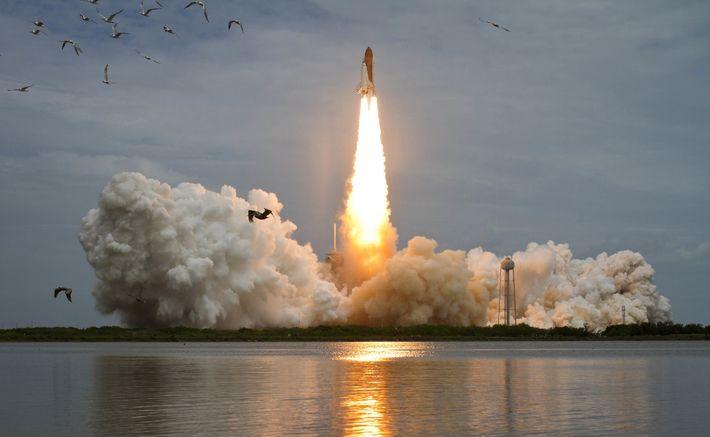 La navette spatiale Atlantis sera lancée depuis le complexe de lancement 39A le vendredi 8 juillet ...