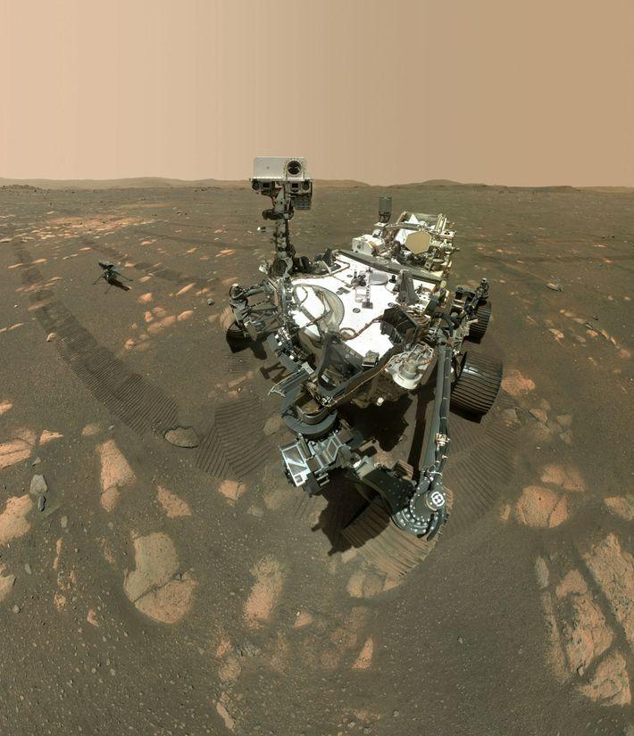 L'astromobile Perseverance a recueilli avec succès son premier échantillon de roche martienne. Pour achever la mission ...